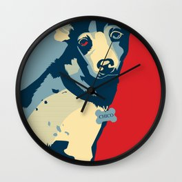 Chico the Dog Wall Clock