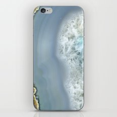 Blue Agate II iPhone & iPod Skin
