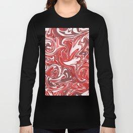 Strawberry Sundae Cream Long Sleeve T-shirt