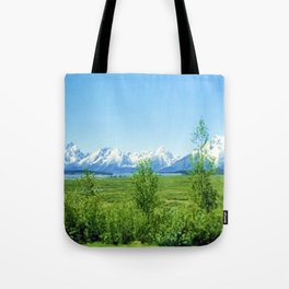 Spring Tetons Tote Bag