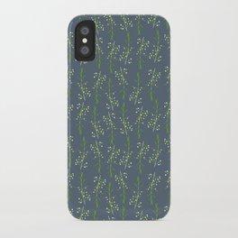 Myrtle Blue iPhone Case