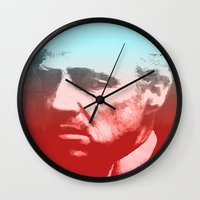 godfather Wall Clocks featuring GODFATHER - Do I have your Loyalty? by Bright Enough💡