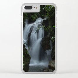 Colombian Waterfalls Clear iPhone Case