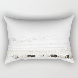 Icelandic Sheep VI Rectangular Pillow