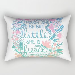Little & Fierce – Lavender Mint Ombré Rectangular Pillow