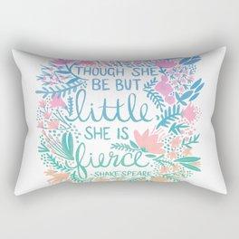 Little & Fierce – Lavender Mint Ombré Rectangular Pillow