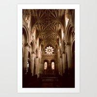 england Art Prints featuring Oxford, England by David Hohmann
