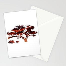 Tree Bear Stationery Cards