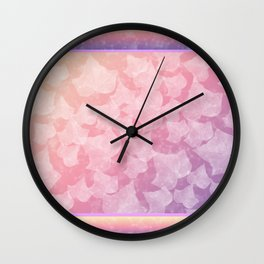 Pastel Ivy Wall Clock