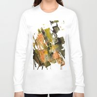 the strokes Long Sleeve T-shirts featuring Autumn Strokes by Bestree Art Designs