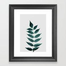 Leaves 3A Framed Art Print