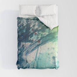 Variations in blue 3 Comforters
