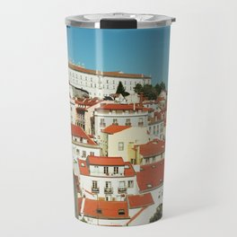 Lisbon view, Portugal Analog 6x6 Kodal Ektar 100 (RR 166) Travel Mug