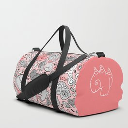 PLAYTIME_PINK Duffle Bag