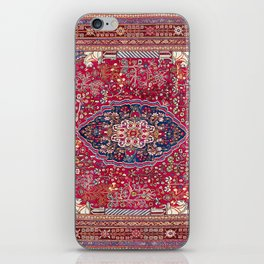 Qashqa'i  Antique Fars Persian Rug iPhone Skin