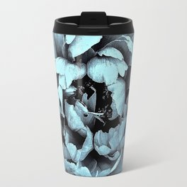 Blue Peony, Under The Floral Spell Travel Mug