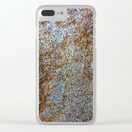 Sandstone Style Clear iPhone Case