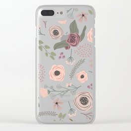Give Me Mauve Clear iPhone Case