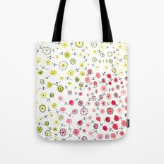 Tiny flowers Tote Bag