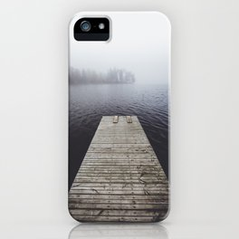 Fading into the mist iPhone Case