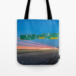 Highway to Light Tote Bag