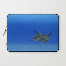 Peaceful Sea Turtle Laptop Sleeve