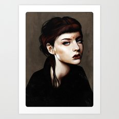 Zoey Scarlet Art Print