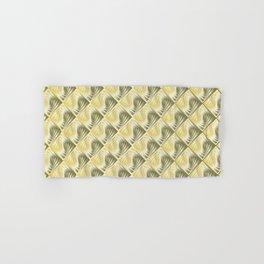 Geometric gradient pattern tiles with 3D effect Hand & Bath Towel
