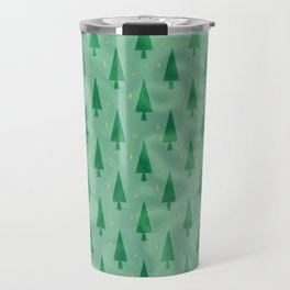Christmas Forest Travel Mug