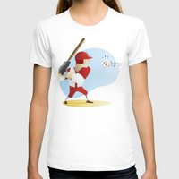 baseball T-shirts featuring Baseball! by Dues Creatius