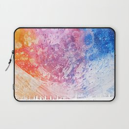 Abstract Acrylic Mountain Laptop Sleeve