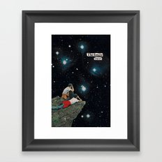 future vision...? Framed Art Print
