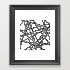 To The Edge #3 Framed Art Print