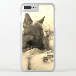 The Thinker Clear iPhone Case