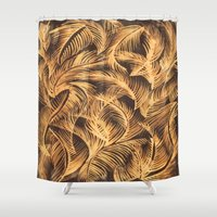 bleach Shower Curtains featuring bleach by  Ray Athi