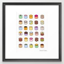 C A K E S Framed Art Print