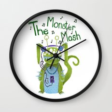 The Monster Mash Wall Clock