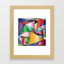 Precious Stones Framed Art Print