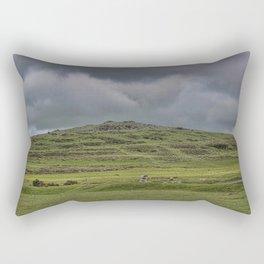 Cox Tor, Dartmoor, Devon Rectangular Pillow