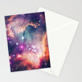 The Universe under the Microscope (Magellanic Cloud) Stationery Cards