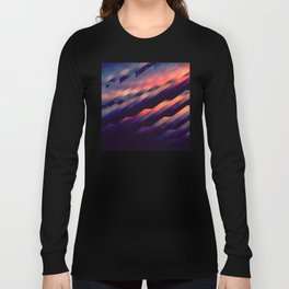 Dusk Geometric Swipe Long Sleeve T-shirt