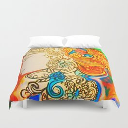 Etched in Lace #society6  #decor #buyart Duvet Cover