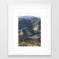geology Framed Art Prints featuring Geology Rocks by ArtByRobin
