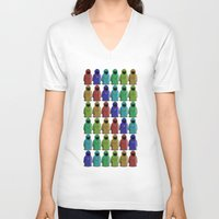 minions V-neck T-shirts featuring MAGUS MINIONS by Shepo
