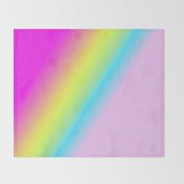 Rainbow Nr.2 Throw Blanket