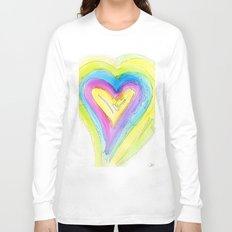 Spring Heart Long Sleeve T-shirt