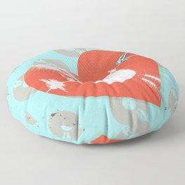 RECORD HEARTBEAT Floor Pillow