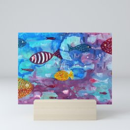 Reflexes Mini Art Print