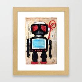 ROBOT 11 Framed Art Print