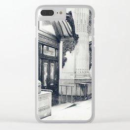New York City Snow Globe Clear iPhone Case